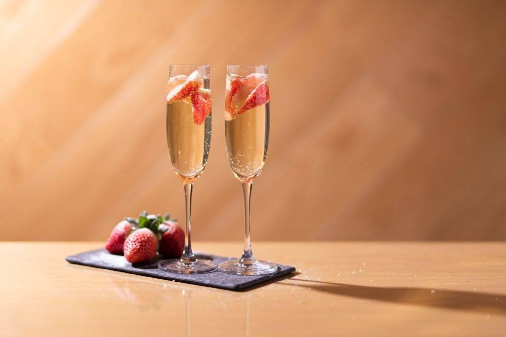 每位賓客更可獲特飲一杯,如士多啤梨氣泡酒、士多啤梨朱古力奶或韓國蜂蜜柚子茶(圖片來源:官方圖片 )