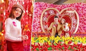 【#新年行大運】Mira Place浪漫風環保紙風車海、六米巨型「如意風車塔」 新春購物美食優惠低至3折