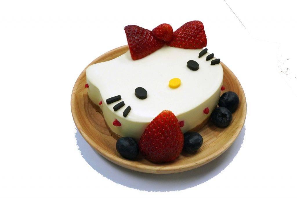 草苺之戀-日本草苺低脂乳酪凍餅 4吋 8