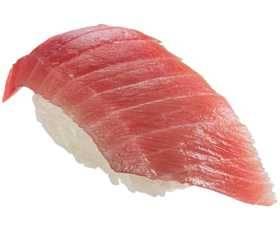天然藍鰭中呑拿魚腩壽司肉質細嫩,啖啖油香。