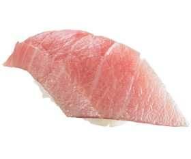 天然藍鰭大呑拿魚腩油花分佈更平均。