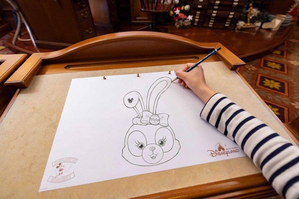 動畫藝術教室會首次教授小朋友畫Duffy和StellaLou。