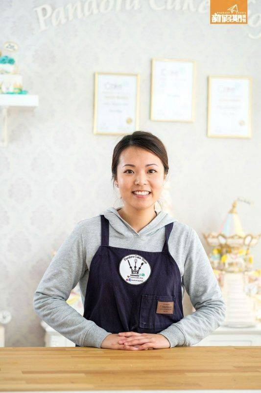 店主Jess從事翻糖蛋糕師多年,曾贏得多個國際大獎。