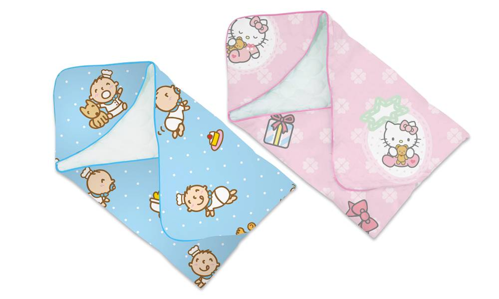 全棉嬰兒愛心被(零售價: 0)