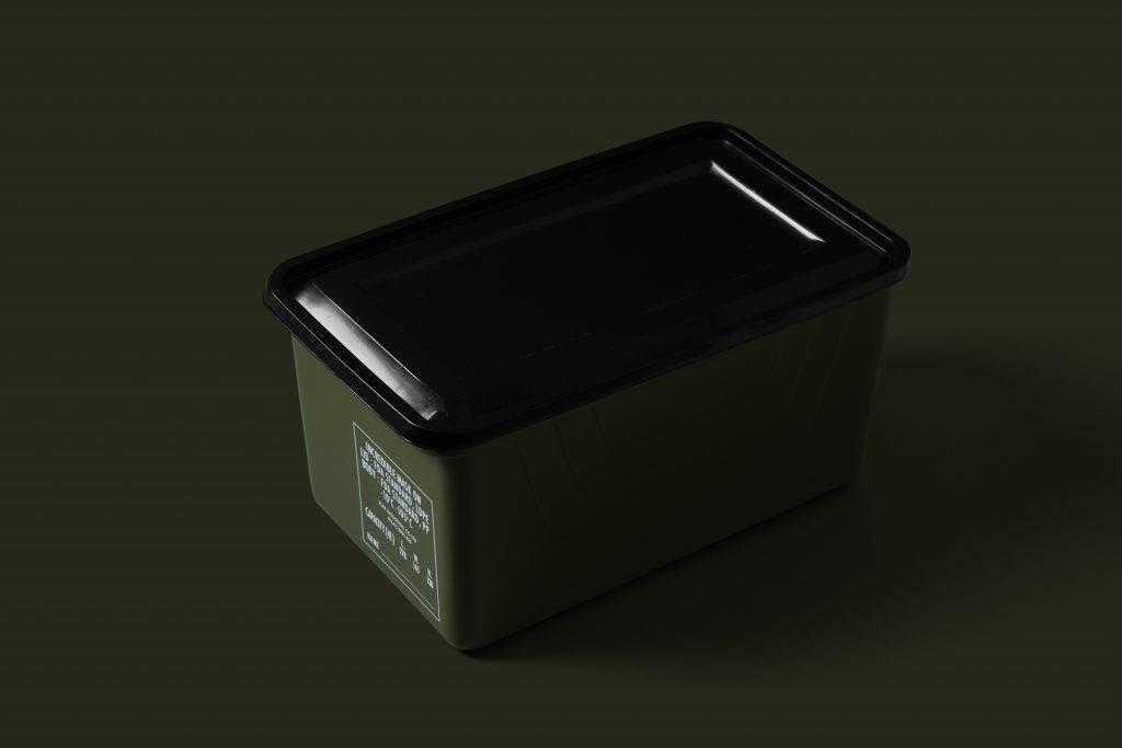 MaskOn X IINCREDIBLE X 紅 A 軍綠色多用途口罩儲存盒 0