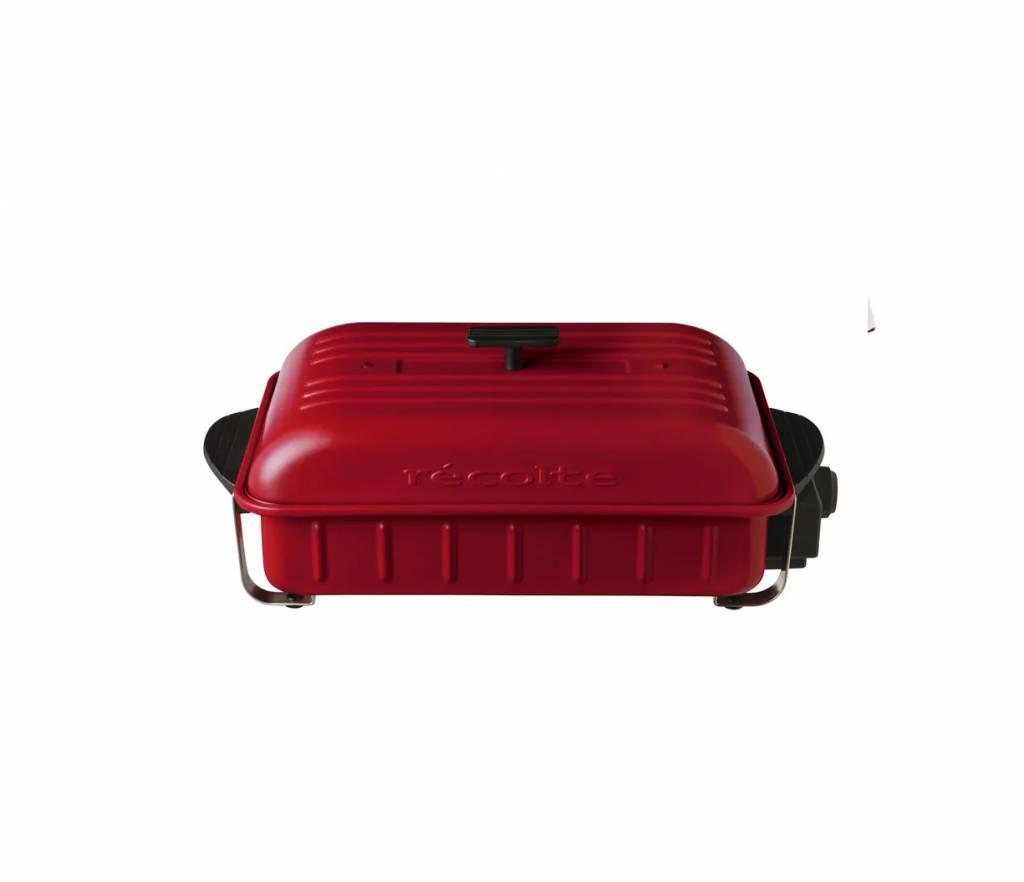 Recolte RBQ-1 多用途烤盤 (紅色) 建議零售價 8