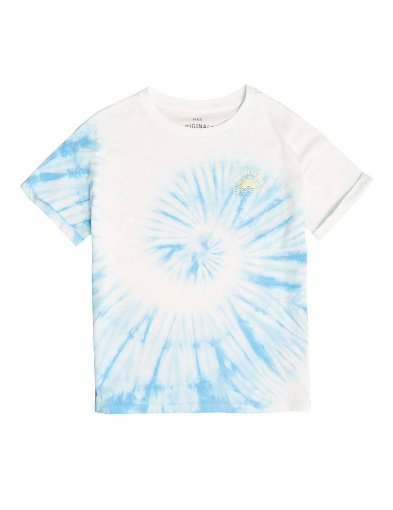 有機純棉紮染 T 恤 新抵價9 (原價9)