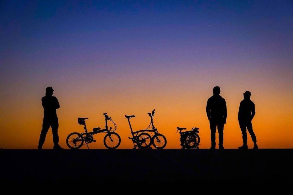 日落時份的剪影非常漂亮。(圖片授權:IG@laishunhang)