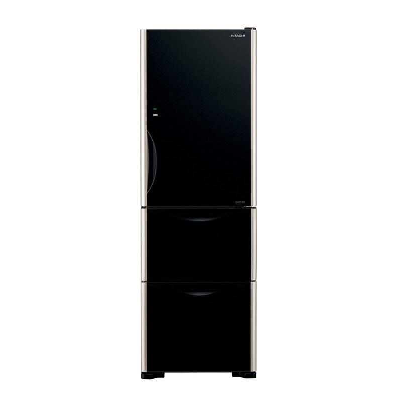 Hitachi  三門雪櫃 375 公升 (黑影玻璃) (R- SG38KPH/GBK)  蘇寧價 ,885