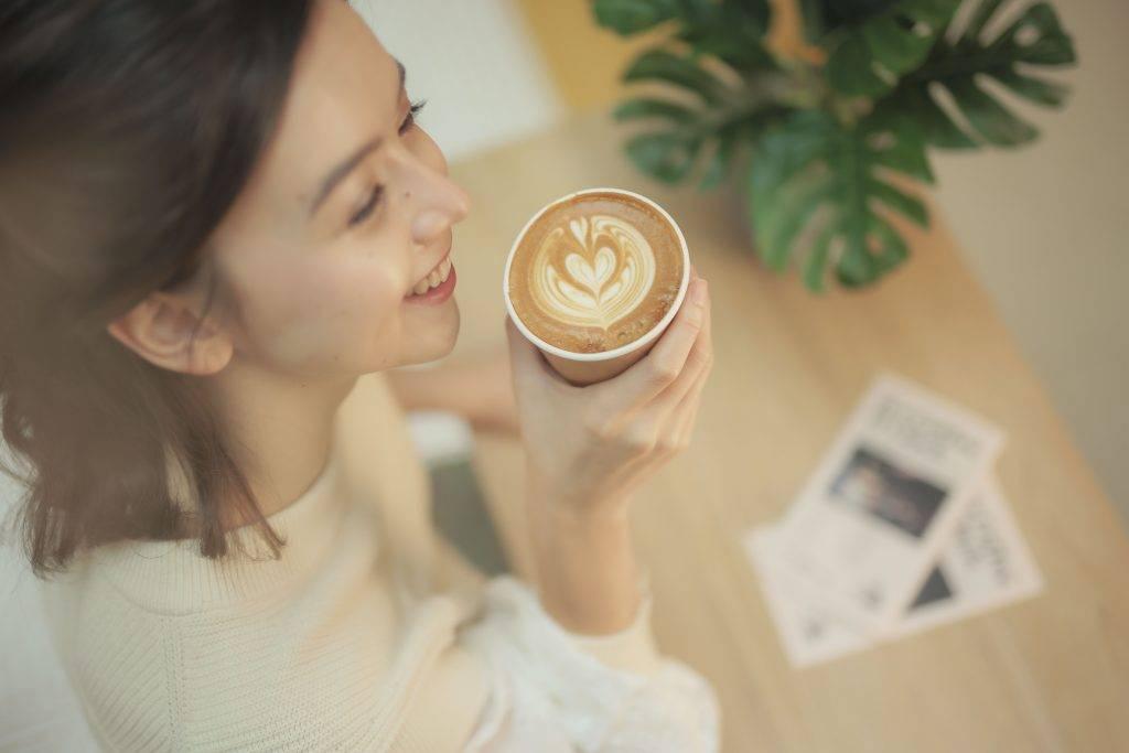 買完咖啡來影相~