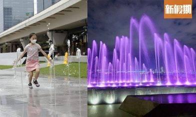 觀塘海濱音樂噴泉明天啟用 斥資5,000萬港元 設噴泉表演及互動嬉水區 每日設3時段表演 網民:爆水管仲吸睛|香港好去處