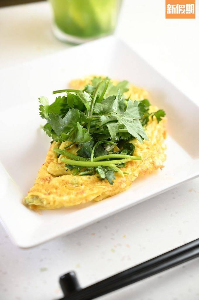 香茜芝士煎蛋 中環店限定。早餐A需加、早餐B及C需加 、其他早餐套餐均可加。