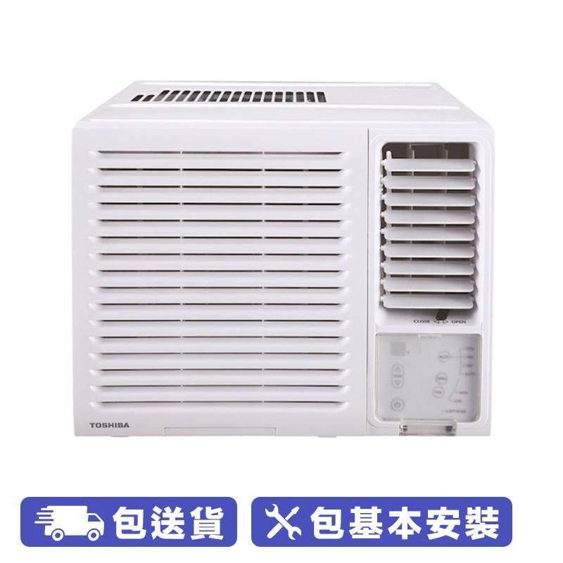 Toshiba 1 匹窗口式冷氣機 (獨立抽濕 LED 遙控系列) (RAC-H09FR) 蘇寧價 ,590 (4-5/5 限定優惠) 建議零售價 ,090