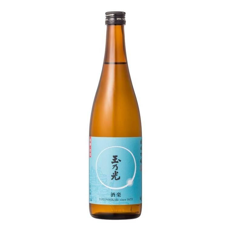 玉乃光 純米吟釀酒樂淡麗辛口(720毫升)原價8特價 (49折)