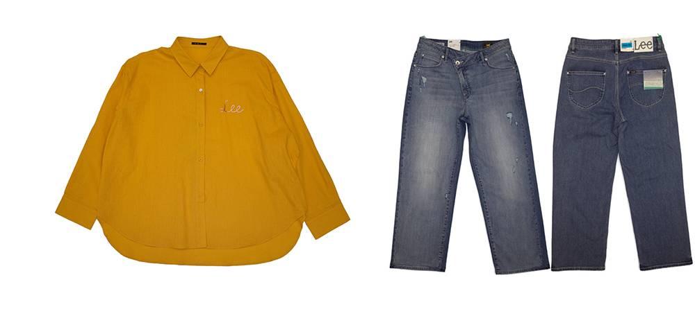 Lee 女裝休閒Shirt / 涼感闊腳褲 25折 9.4 (原價 <img width=