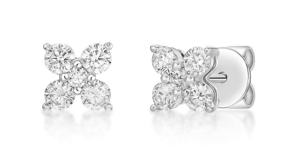 太子珠寶鐘錶 18K 白色黃色鑽石耳環  優惠價: ,330 (原價: ,700)