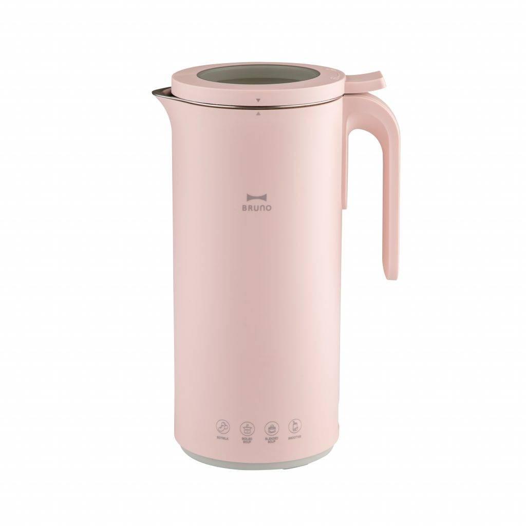 BRUNO 多功能熱湯豆漿機 粉紅色