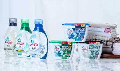 打開洗衣機瞬間撲鼻的清新!秘密在於抗氧化!日本ARIEL全新首創抗氧化科技 99.9%抗菌抗臭