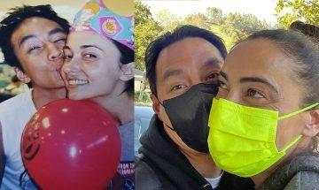 吳彥祖為Lisa S.慶生 重現廿年前煙韌照 自嘲髮量大減對愛妻情不減