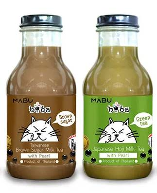 MABU 台式黑糖珍珠奶茶/ 日式焙茶珍珠奶茶 現售.9/1 件;/2 件