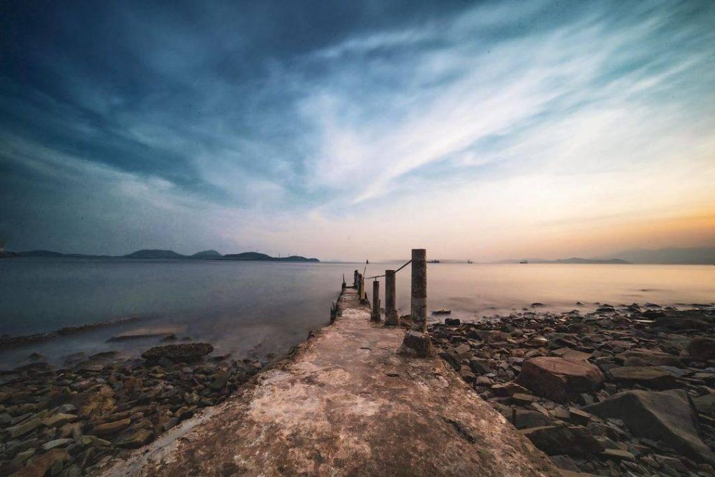 舊碼頭+日落,兩個字:靚到爆!(圖片來源:IG@nathanwong.hk)