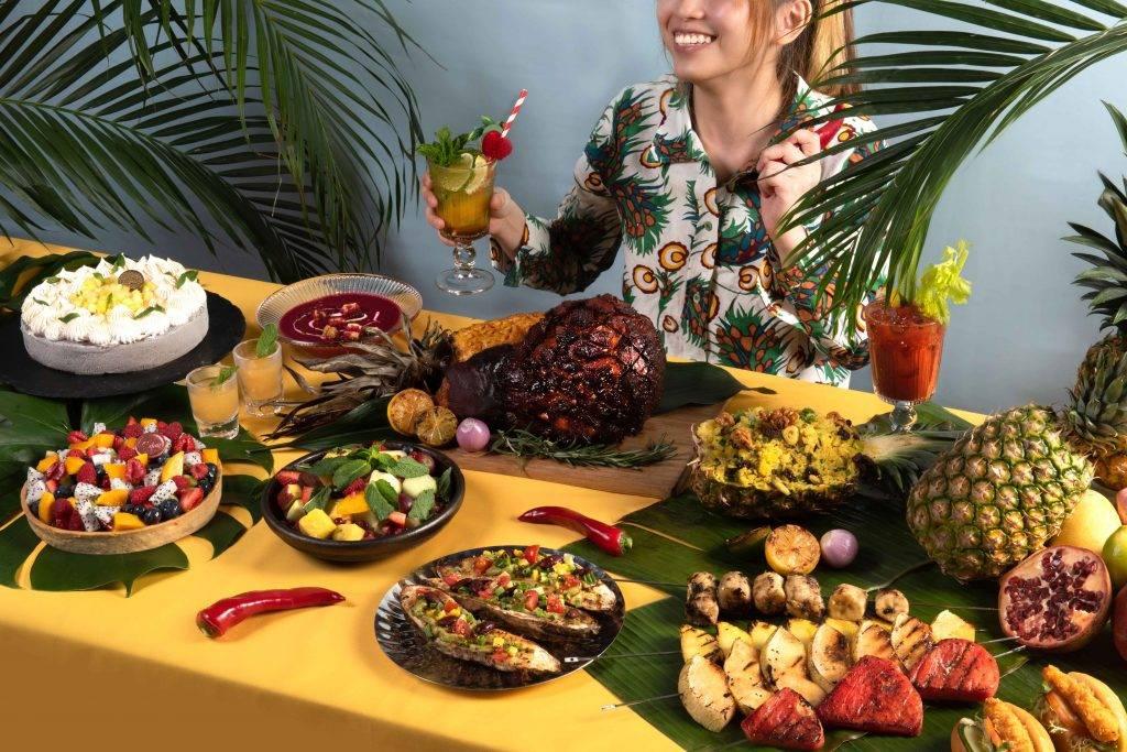 逸東酒店推出「水果狂熱」週末下午茶自助餐