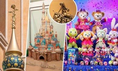 香港迪士尼樂園15周年節目合集!全新城堡+限定紀念品+門票優惠