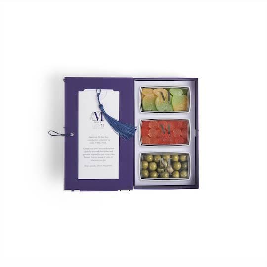 3件裝8盒內包裝像一本打開的書。(圖片來源:Lady M)