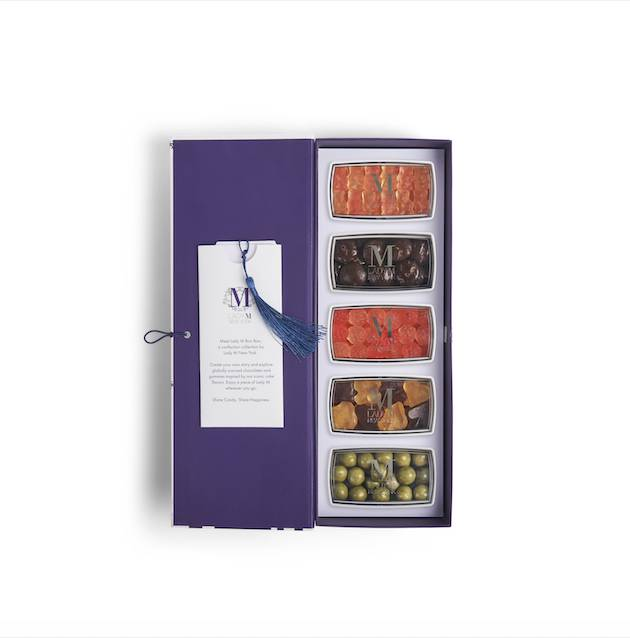 5件裝8客人可以自行選擇盒內的糖果或朱古力。(圖片來源:Lady M)