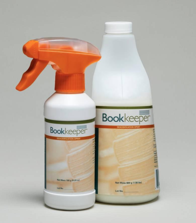 收藏紙質專用噴霧(圖片來源:bookeeper@ptlp.com)