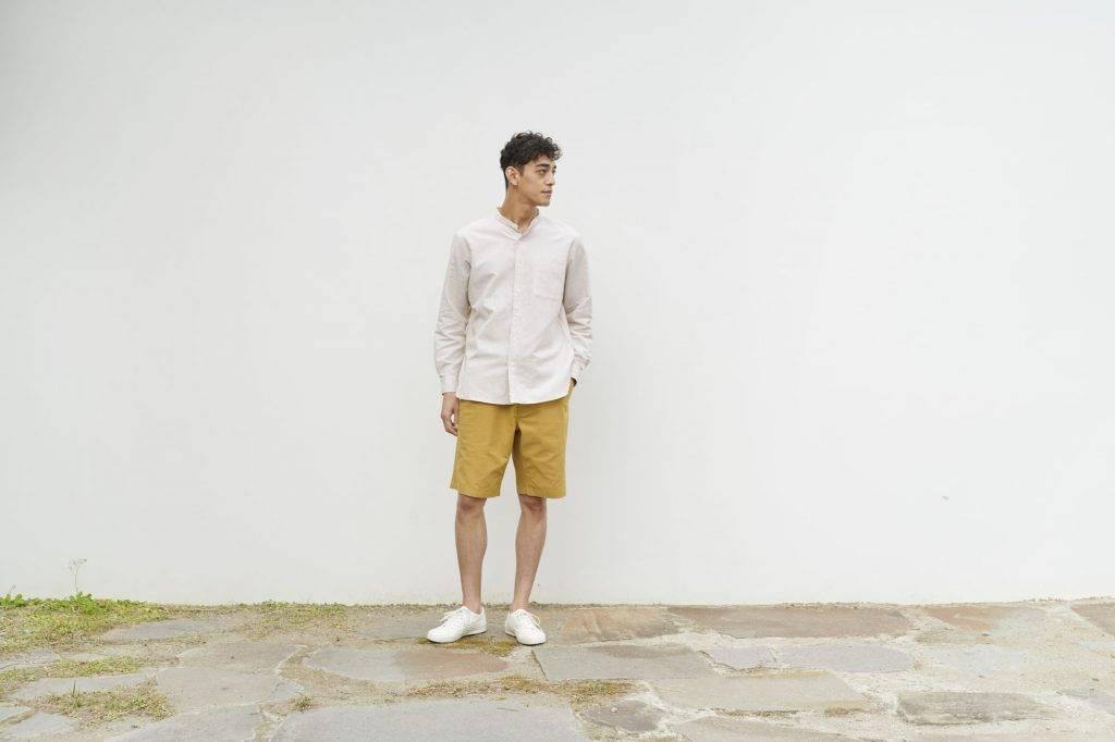(圖片來源:官方圖片)男裝 麻質混紡短褲 9(原價 9)