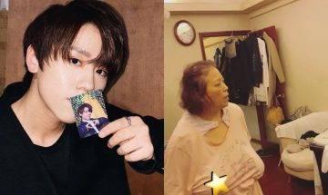 姜濤家居曝光雜物塞滿廳 姜媽媽出鏡點評兒子演出