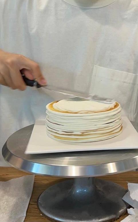 每一件蛋糕都是由思杰親身製作。(圖片來源:cc bakery)