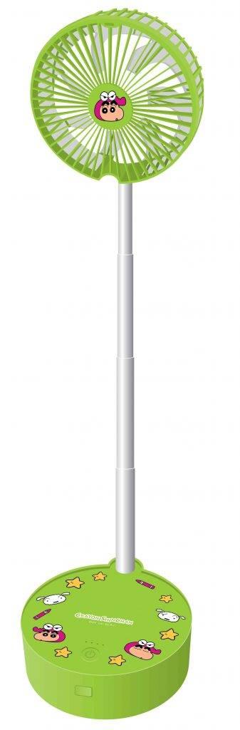 蠟筆小新摺合式便攜風扇 9(圖片來源:7-Eleven)