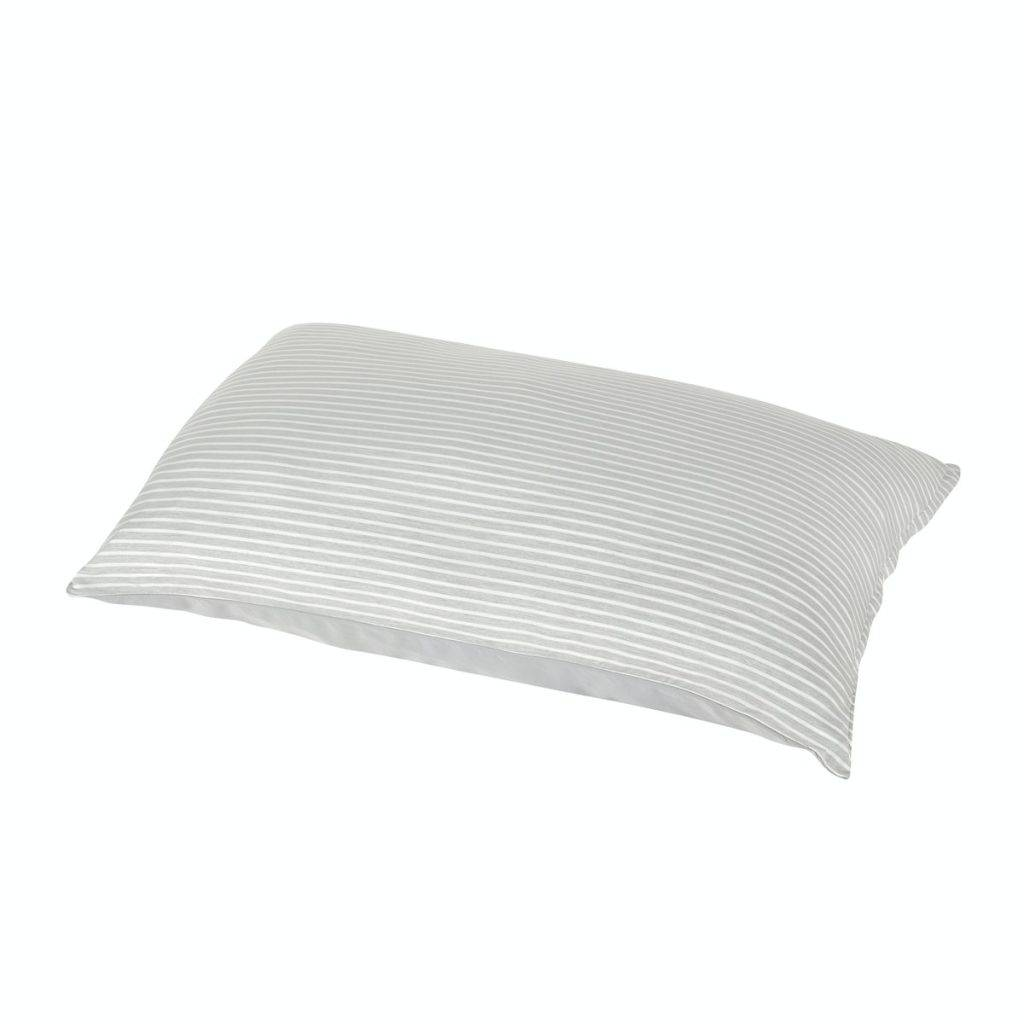 BRANDLILJA 枕袋, 灰色/條紋 – 優惠價: (原價:.9)
