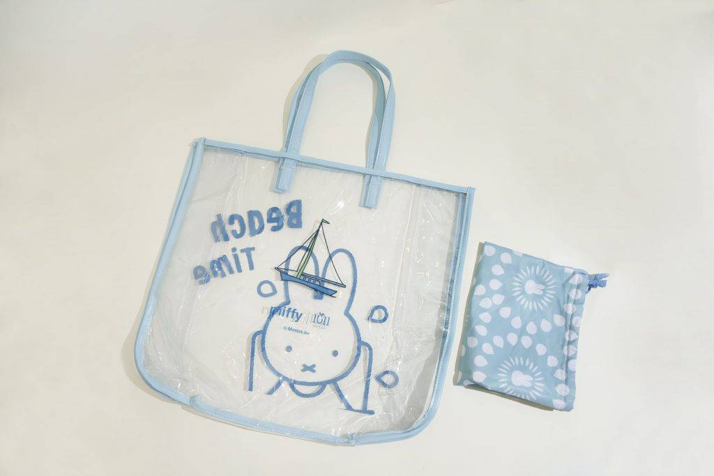 Miffy 沙灘袋+毛巾;組合價:$198(圖為沙灘袋)(圖片來源:1011 TEABAR)