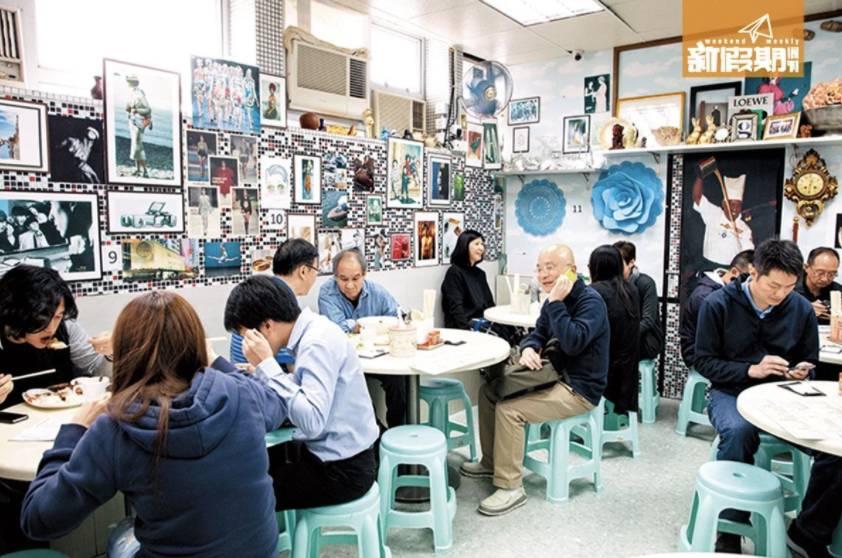 每日未夠中午12時,店內已經忙得不可開交,全部都是剛剛放飯的上班族。(圖片來源:新假期編輯部)