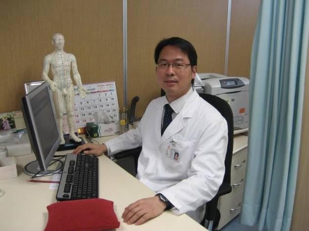 註冊中醫師黃展鴻博士(圖片來源:受訪者提供)