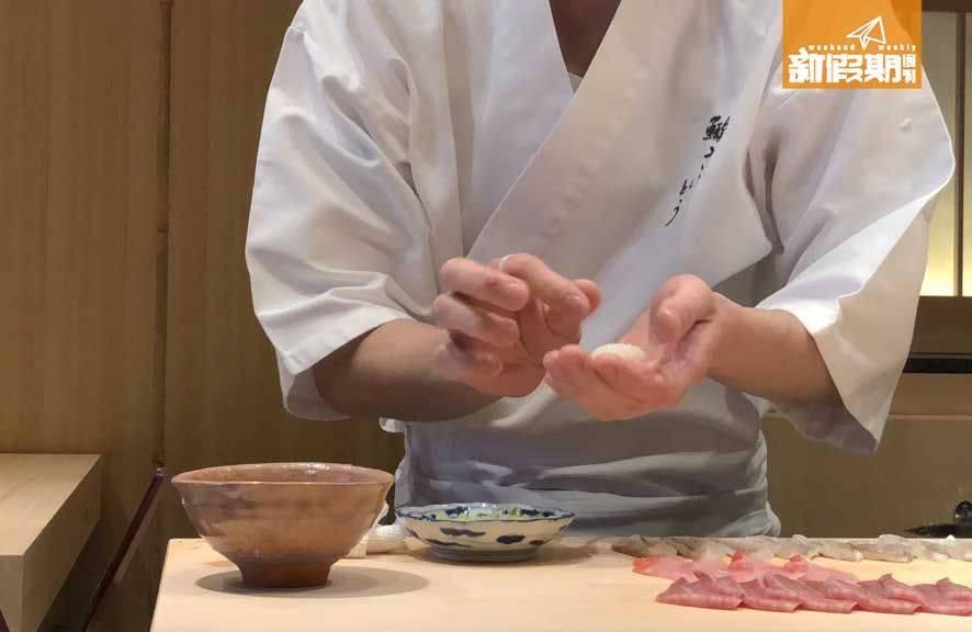 Omakase為日式料理,其師傅都精通於各項日式菜品的處理。(圖片來源:新假期)