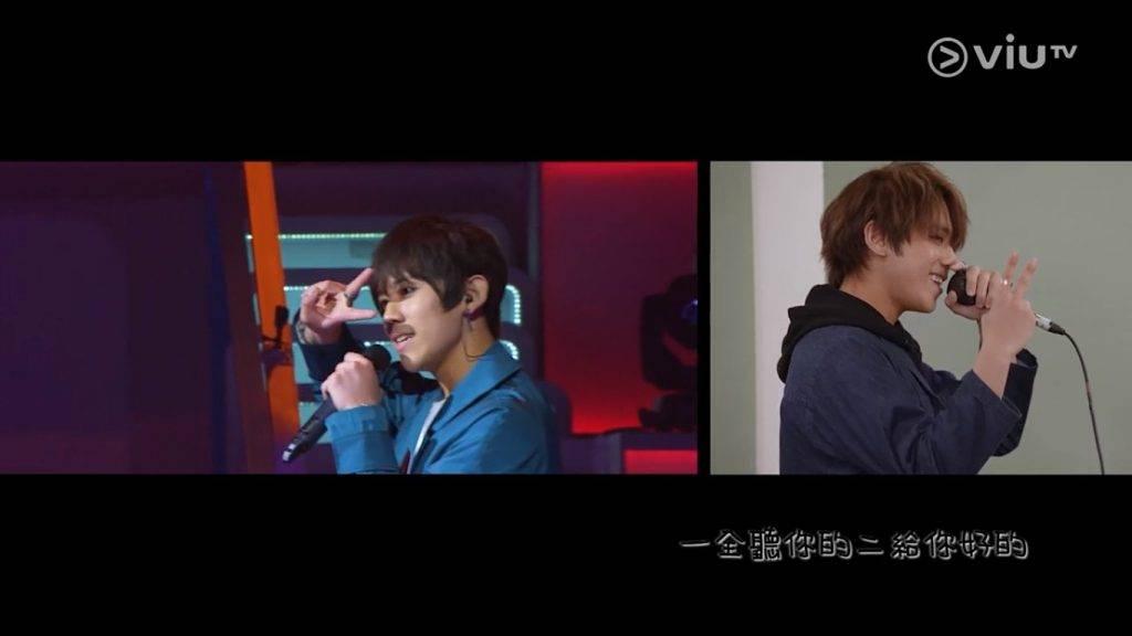 (圖片來源:)《調教你Mirror》截圖 姜濤的比賽時的初舞台「123我愛你」,被笑稱是香港人的回憶