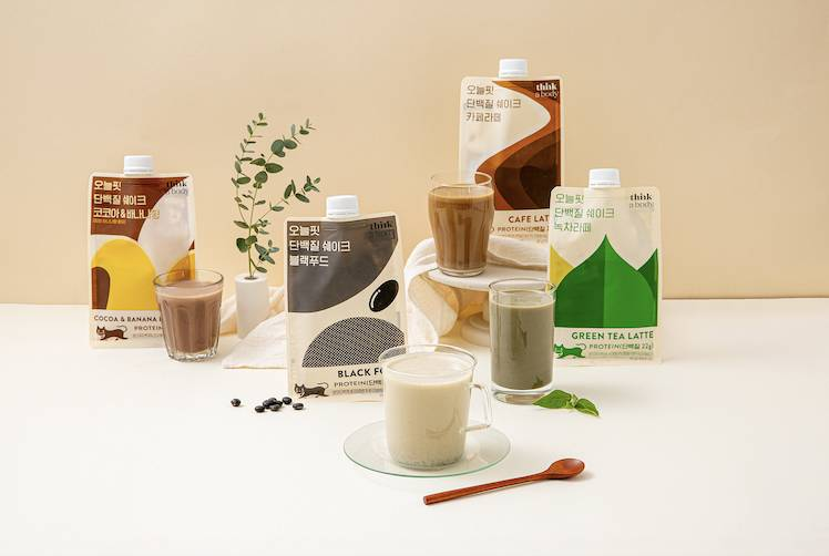 今天蛋白質奶昔(朱古力、香蕉味、抹茶拿鐵味、黑豆味、拿鐵咖啡味)/包還有健康代餐!(圖片來源:Cookat Market)