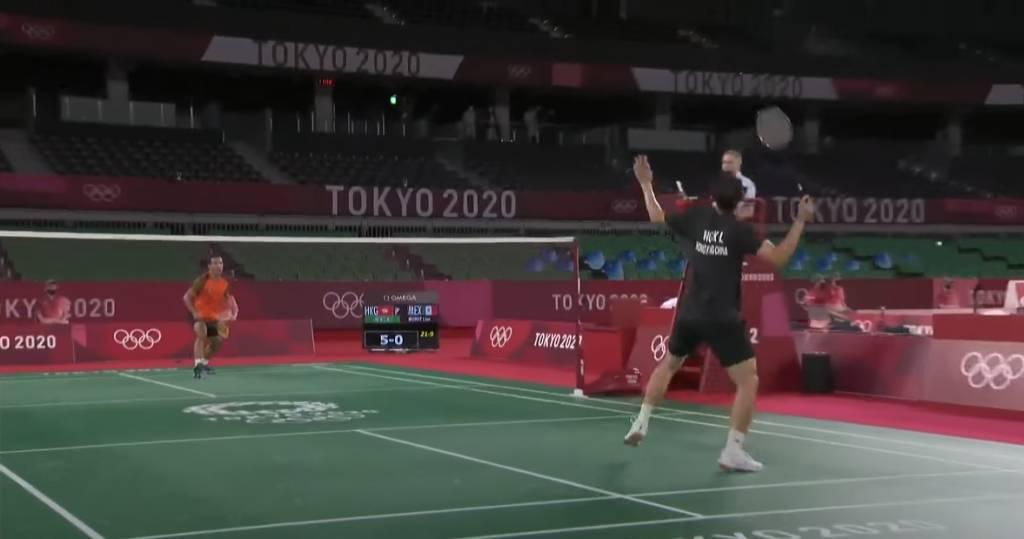 成為運動員,運氣亦十分重要。(圖片來源:2020東京奧運羽毛球比賽截圖)