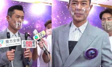 古天樂大讚張家朗 霸氣完場拒談同場《聲夢傳奇》學員  TVB主持勁無癮