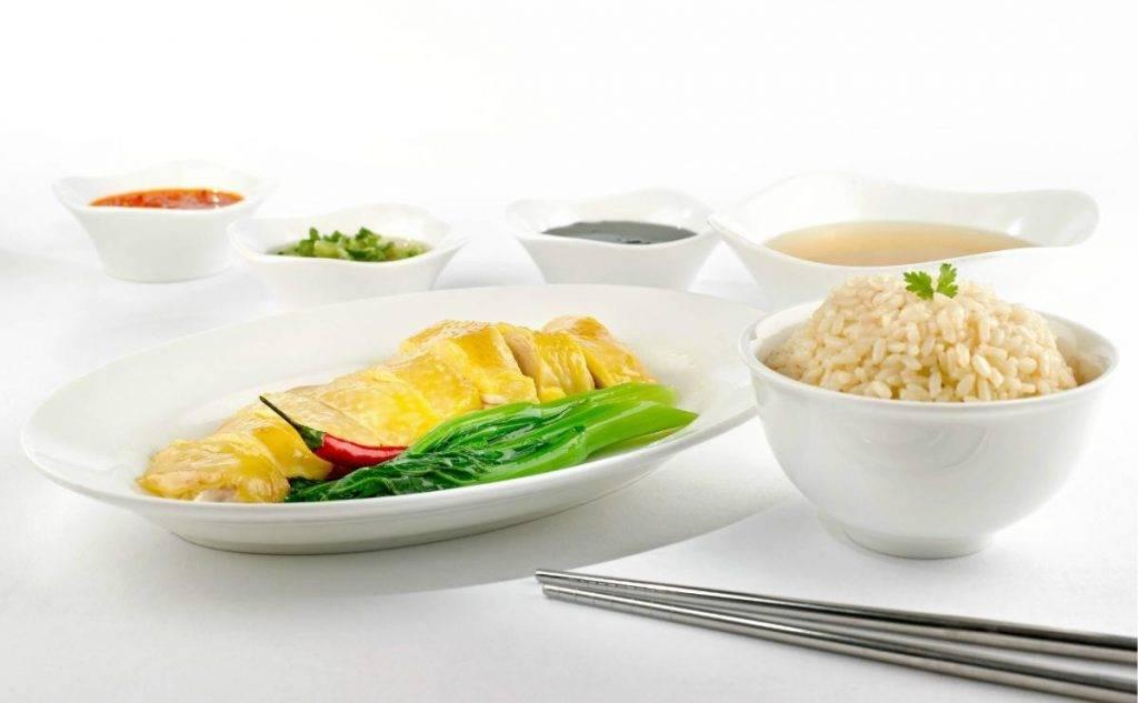 海南雞飯是咖啡園招牌之一 一(圖片來源:港麗酒店)