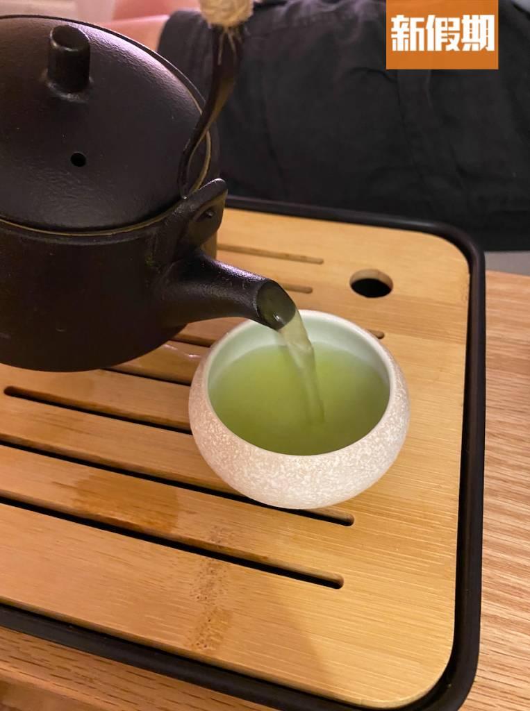 記者叫咗玄米茶~好飲~(圖片來源:新假期資料室)