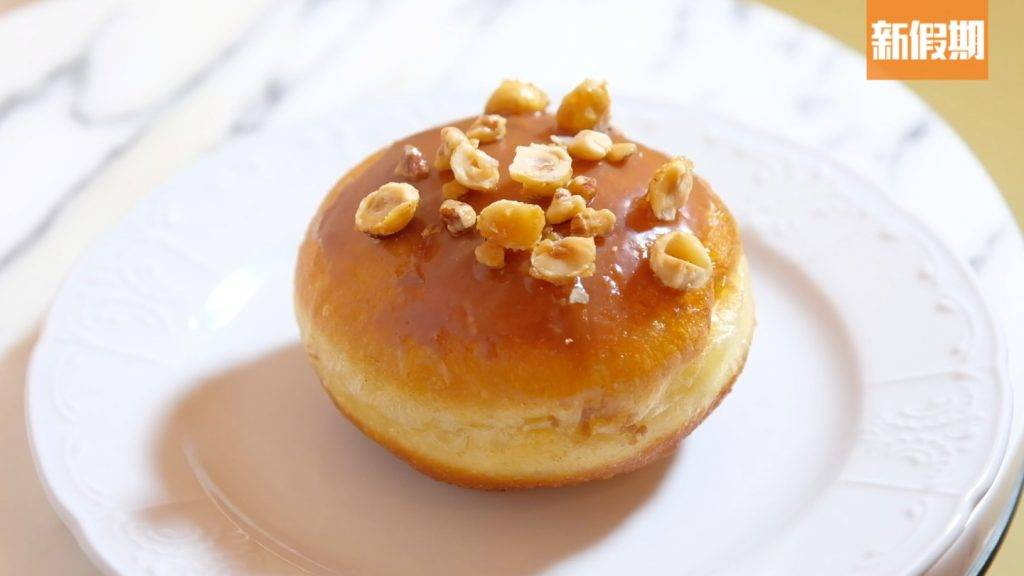 Hazelnuts Bomboloni最受歡迎的是榛子口味。(圖片來源:新假期編輯部)