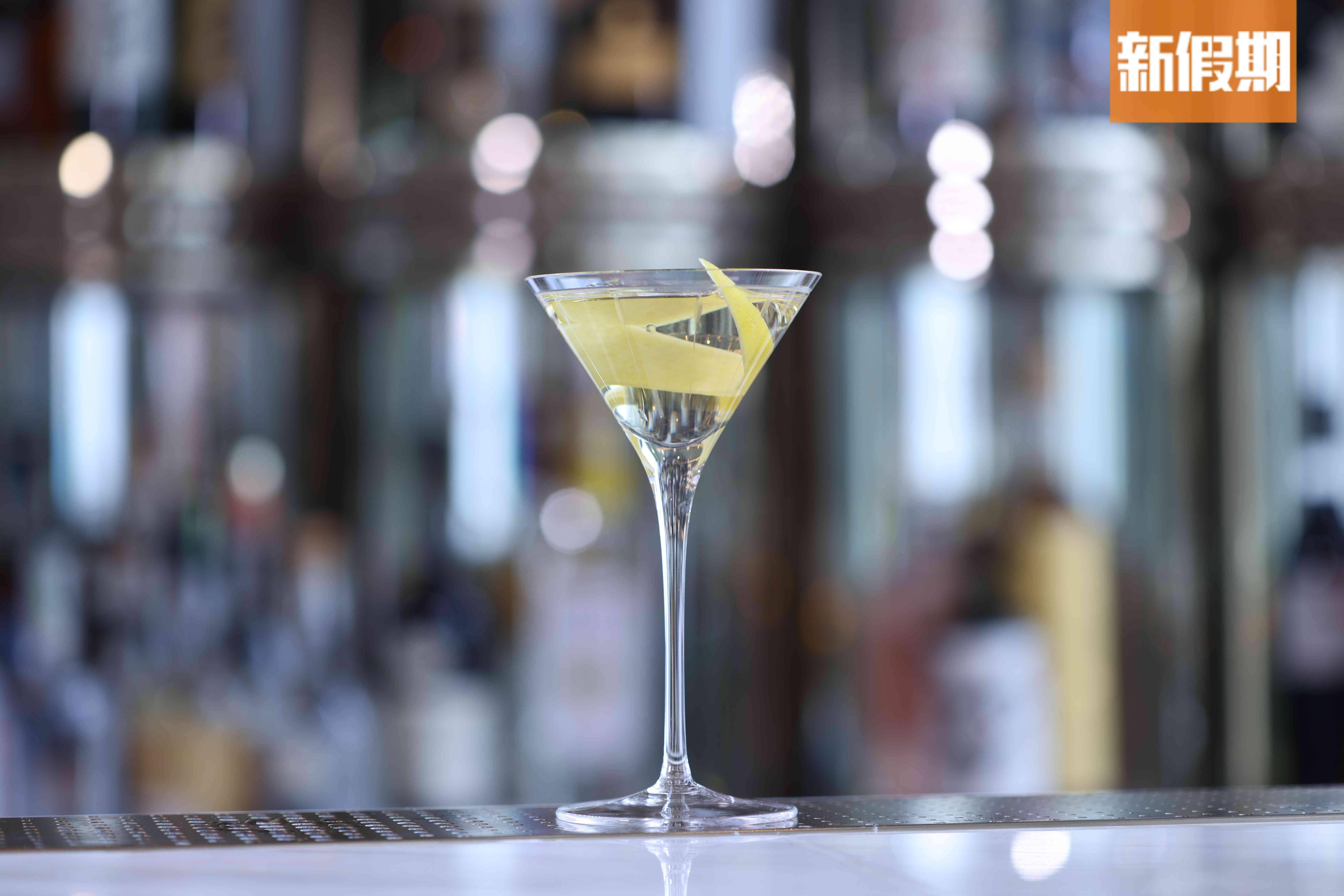 Argo Martini0混合了招牌Argo Gin 還有季節風味水(圖片來源:新假期編輯部)