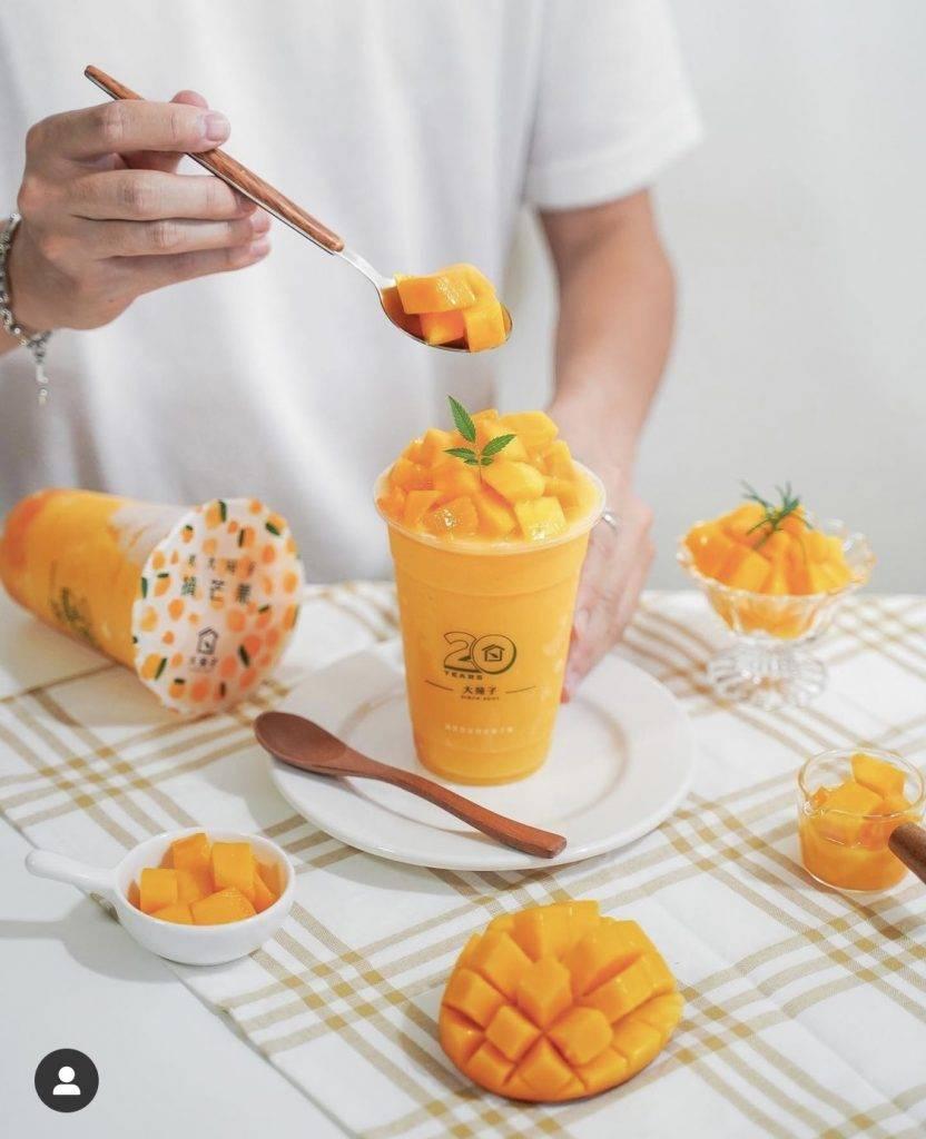 大苑子引起一眾台灣foodie潮聖(圖片來源:ryan.food instagram)
