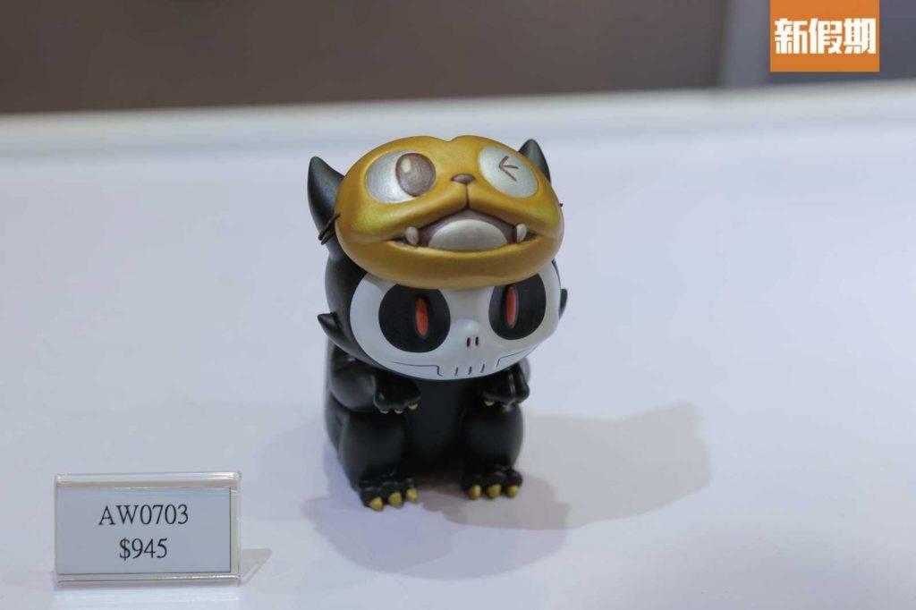 來自世界各地玩具設計師也有參展。(圖片來源:新假期編輯部)