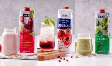 夏日美顏瘦身必備!3大人氣無添加JusReal健康果汁推介+內附特飲食譜